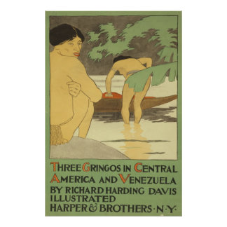 中央アメリカおよびベネズエラの3人のgringos ポスター