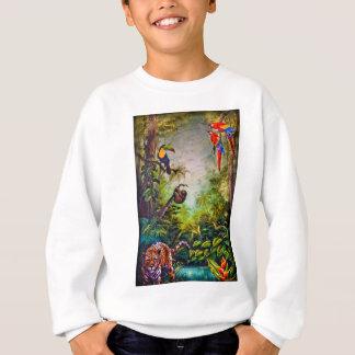 中央アメリカの社交クラブの壁画 スウェットシャツ