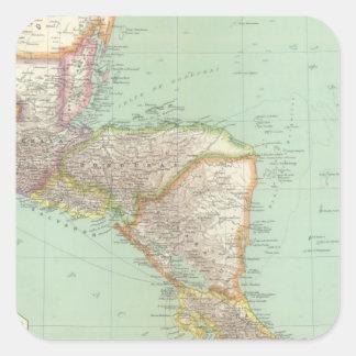 中央アメリカ4 スクエアシール