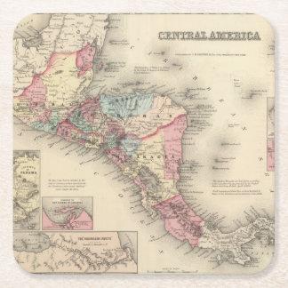 中央アメリカ5 スクエアペーパーコースター
