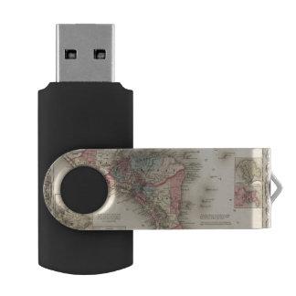 中央アメリカ5 USBフラッシュドライブ