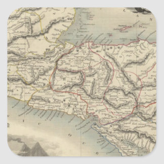 中央アメリカ7 スクエアシール