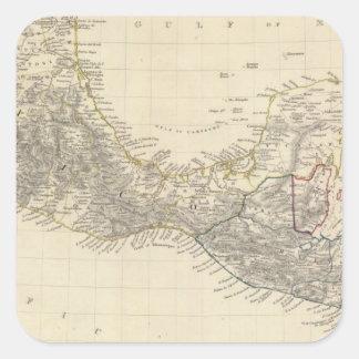 中央アメリカ、Sメキシコ スクエアシール