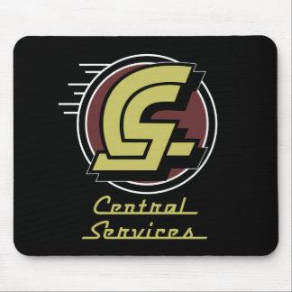 中央サービスのミステリー狩りの王位の象徴 マウスパッド