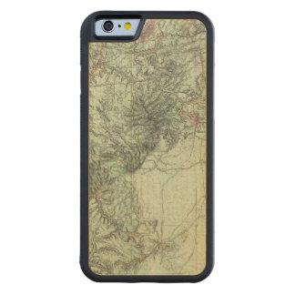 中央ニューメキシコの土地分類の地図 CarvedメープルiPhone 6バンパーケース