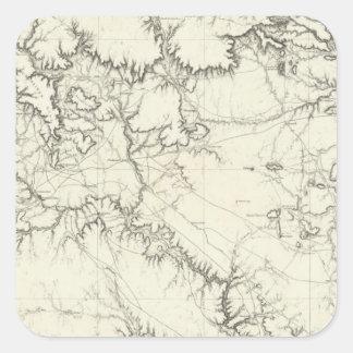 中央ニューメキシコ スクエアシール