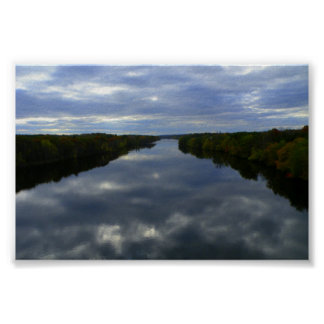 中央メインの川 ポスター