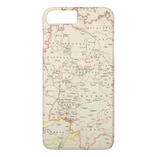 中央ヨーロッパ中のmeterological場所 iPhone 8 plus/7 plusケース