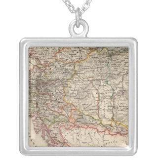 中央ヨーロッパ シルバープレートネックレス