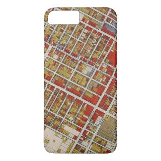 中央ロサンゼルスのWPAの地図 iPhone 8 PLUS/7 PLUSケース