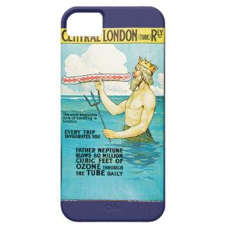 中央ロンドンの鉄道のヴィンテージ旅行 iPhone SE/5/5s ケース