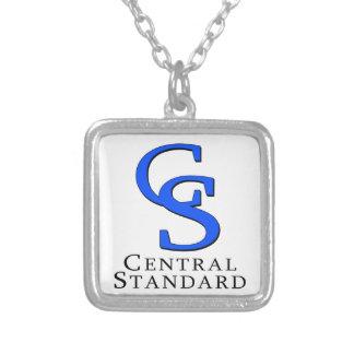 中央標準的な商品 シルバープレートネックレス