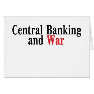 中央銀行業および戦争 カード