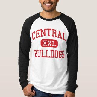 中央-ブルドッグ-高スプリングフィールドミズーリ Tシャツ