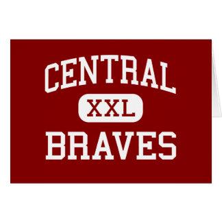 中央-ブレーブス-高等学校-タルサオクラホマ カード