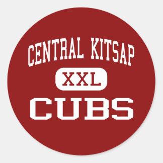 中央Kitsap -カブス-後輩- Silverdale ラウンドシール