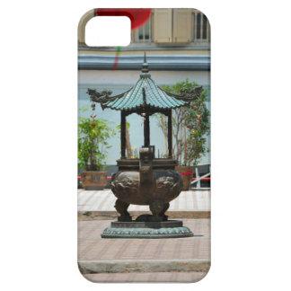 中庭の神社、シンガポール iPhone SE/5/5s ケース
