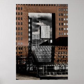 中庭、ロッテルダム ポスター