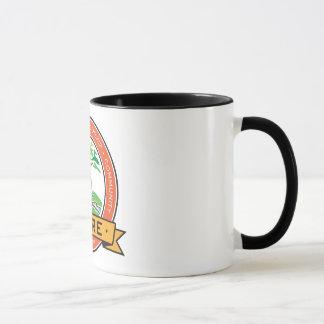 中心のマグ マグカップ