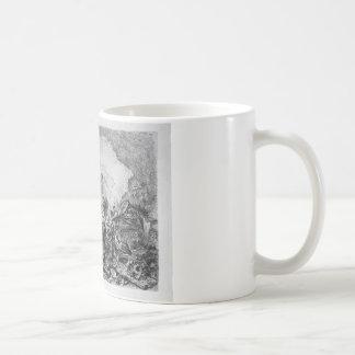 中心の気紛れ気紛れ装飾的な姿 コーヒーマグカップ