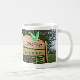 中心のParcsのマグ コーヒーマグカップ