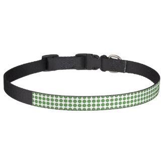 中心点の緑のドッグカラー ペット首輪