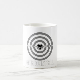 中心点の銃砲規制 コーヒーマグカップ