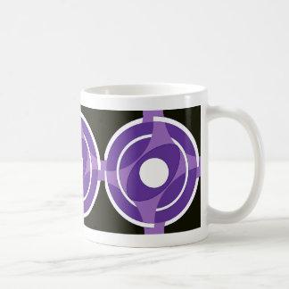 中心点のVesicaの紫色 コーヒーマグカップ