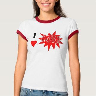 中心 Tシャツ