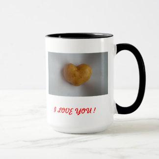 中心I愛! マグカップ