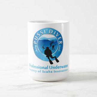 中心PUSSI コーヒーマグカップ