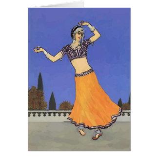 中東のダンサー カード