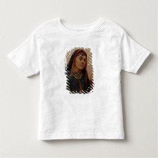 中東の女の子のポートレート、c.1859 (油 トドラーTシャツ