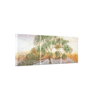 中東の生命の樹 キャンバスプリント