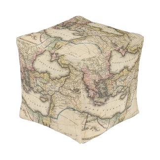 中東地図書の地図 プーフ