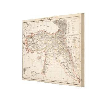 中東、トルコ、シリア キャンバスプリント