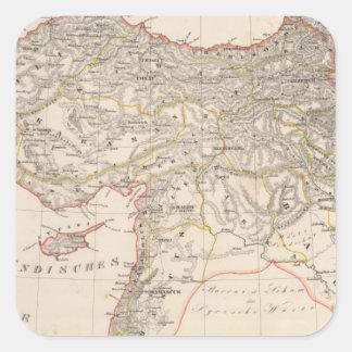 中東、トルコ、シリア スクエアシール