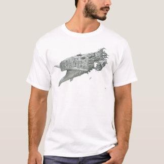 中枢の視野の巡洋戦艦のTシャツ Tシャツ