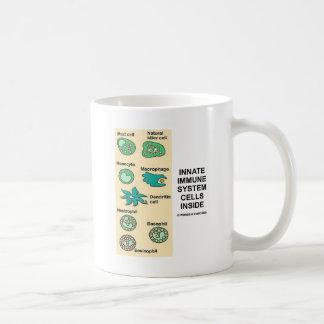 中生得の免疫組織の細胞 コーヒーマグカップ