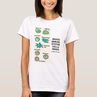 中生得の免疫組織の細胞 Tシャツ