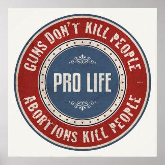 中絶の殺害の人々 ポスター