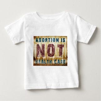中絶はヘルスケアではないです ベビーTシャツ