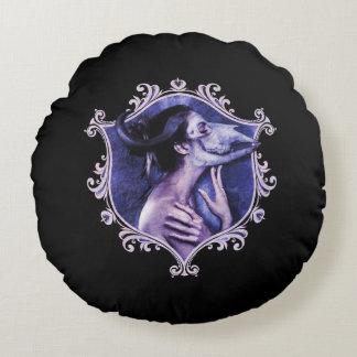 中美しいの-ゴシックの不気味な円形の装飾用クッション ラウンドクッション