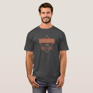 中自由の開始 Tシャツ