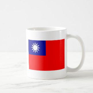 中華民国(台湾)の旗-中華民國國旗 コーヒーマグカップ