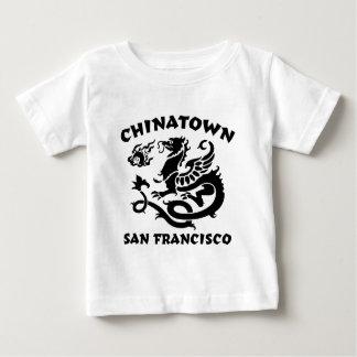 中華街サンフランシスコ ベビーTシャツ