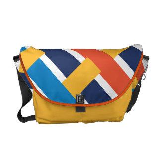 中西部の嵐の織り方 メッセンジャーバッグ