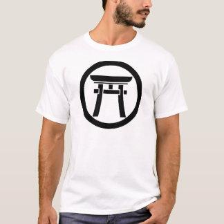中輪に鳥居 Tシャツ