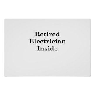 中退職したな電気技師 ポスター