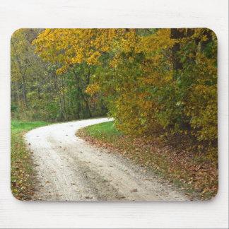 中間のミズーリの秋 マウスパッド